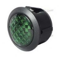 GREEN LED WARNING LIGHT 12V     <br>ALT/SH13-02